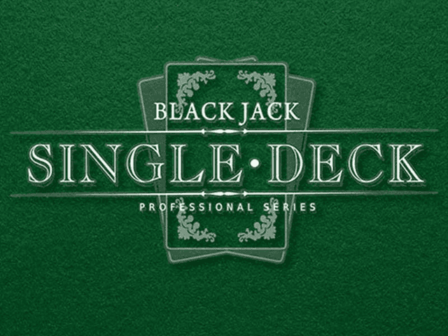 Single Deck Blackjack Professional Series - GMSlots Deluxe слоты
